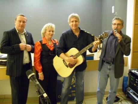 9 novembre 2012: dîner-rencontre avec Yves Duteil